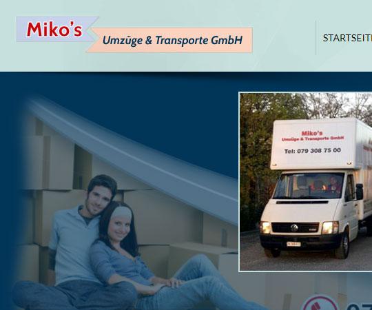 Miko's – Umzüge & Transporte GmbH
